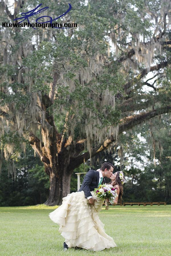 pensacola wedding photographers at eden gardens state park