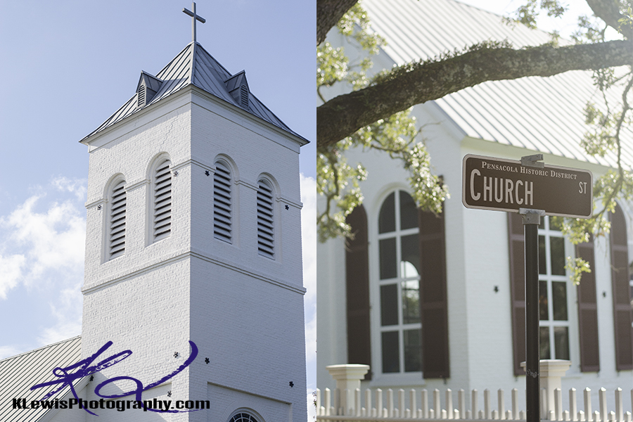 old christ church pensacola wedding photographers