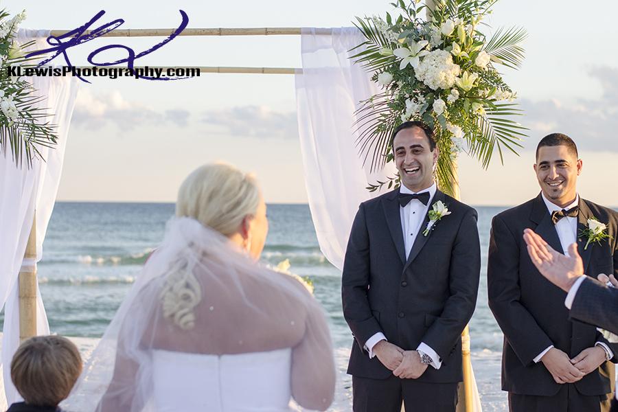 pensacola beach destination wedding photography