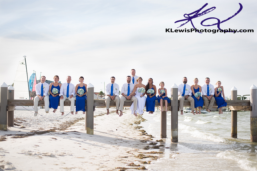 Hemingways Pensacola Beach Wedding Photography