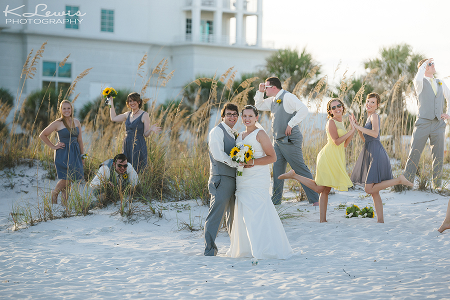 Margaritaville Pensacola Beach Wedding Photos