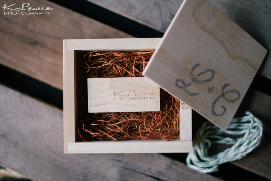 pensacola wedding photographers gift box