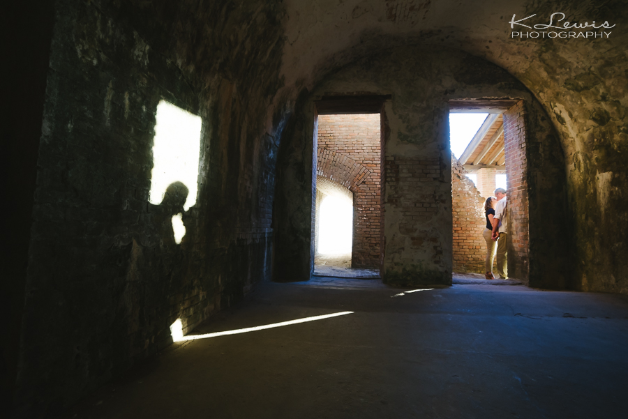 fort pickens pensacola engagement photography