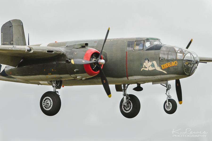 pensacola photos b25 bomber