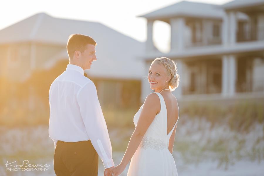 beach wedding reception photos perdido key fl