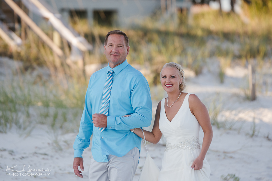 beach wedding photo perdido key