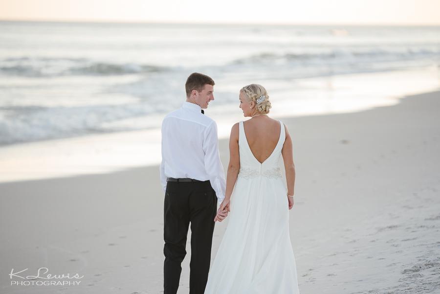 beach wedding photographer in perdido key