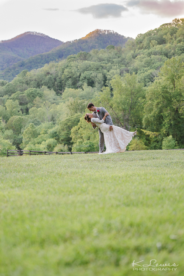 asheville wedding photographer at fields of blackberry cove
