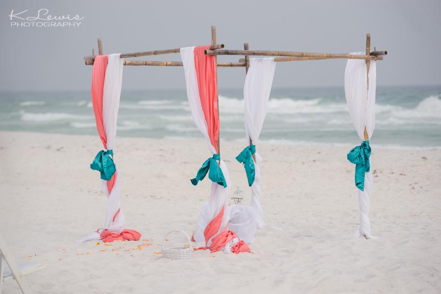 pensacola beach house wedding photos