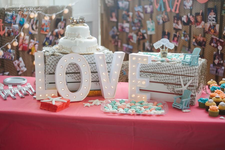 pensacola beach house wedding reception photos
