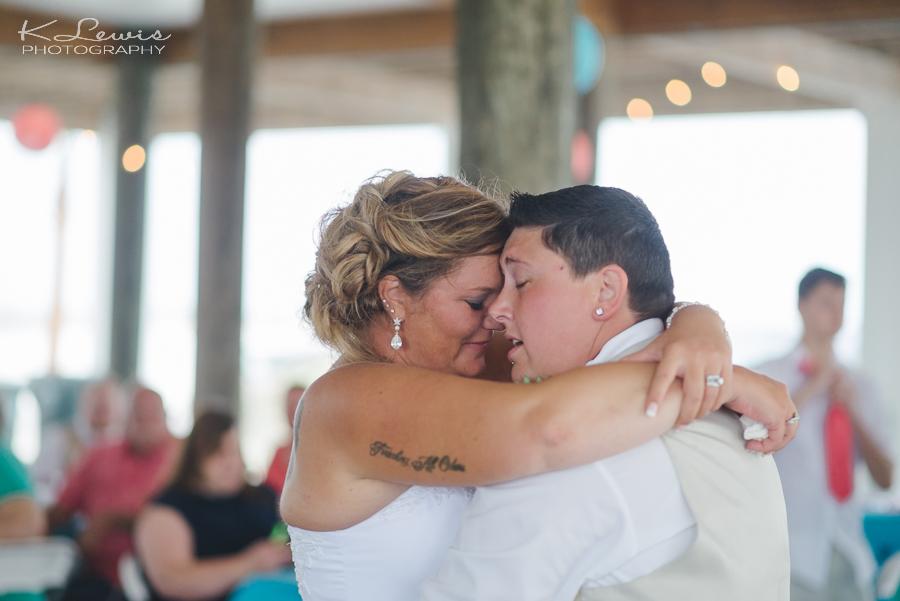 lgbt pensacola beach wedding photos