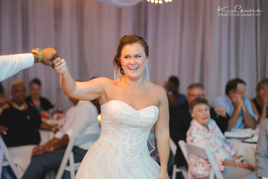 pensacola beach hilton wedding reception photos
