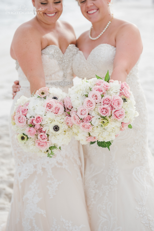 wedding photos in pensacola beach
