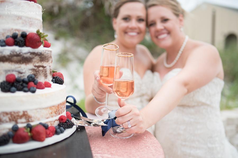 pensacola beach wedding reception photographer