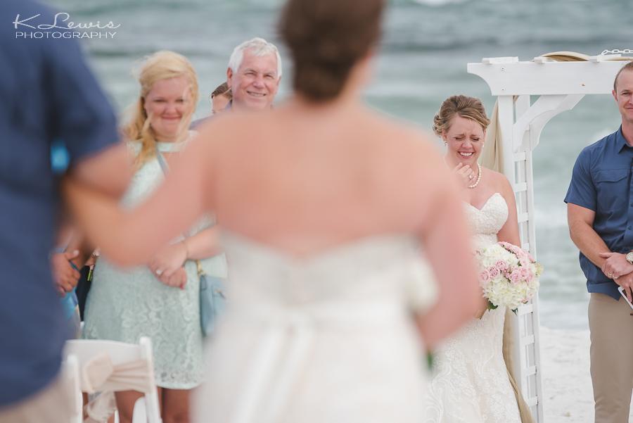 pensacola beach wedding ceremony photographer