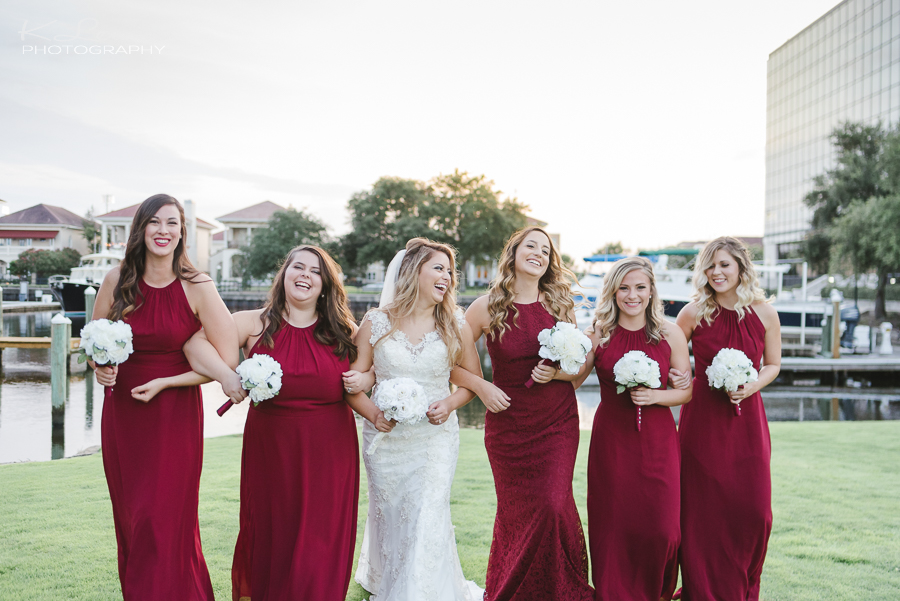 best pensacola wedding reception photographer