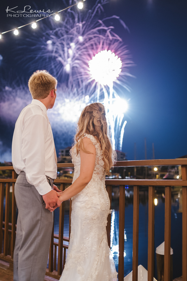 downtown pensacola wedding photographer fireworks