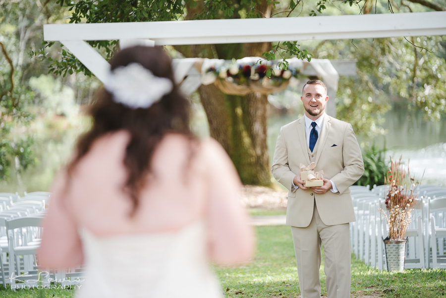 ceremony wedding photos live oak plantation pensacola