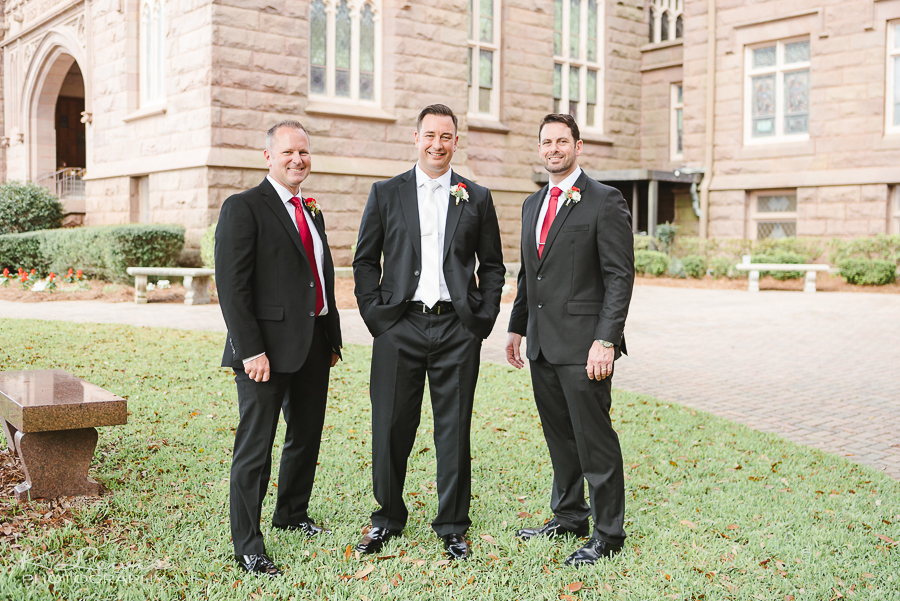 wedding photographer at fumc pensacola fl