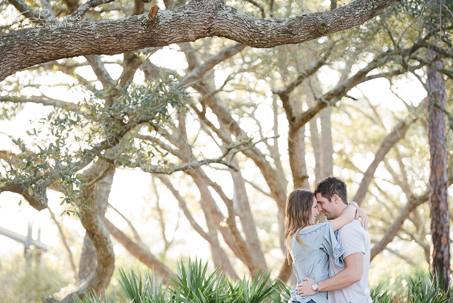 pensacola big lagoon engagement photographers