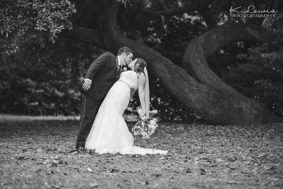 wedding reception photos at historic malbis nursery