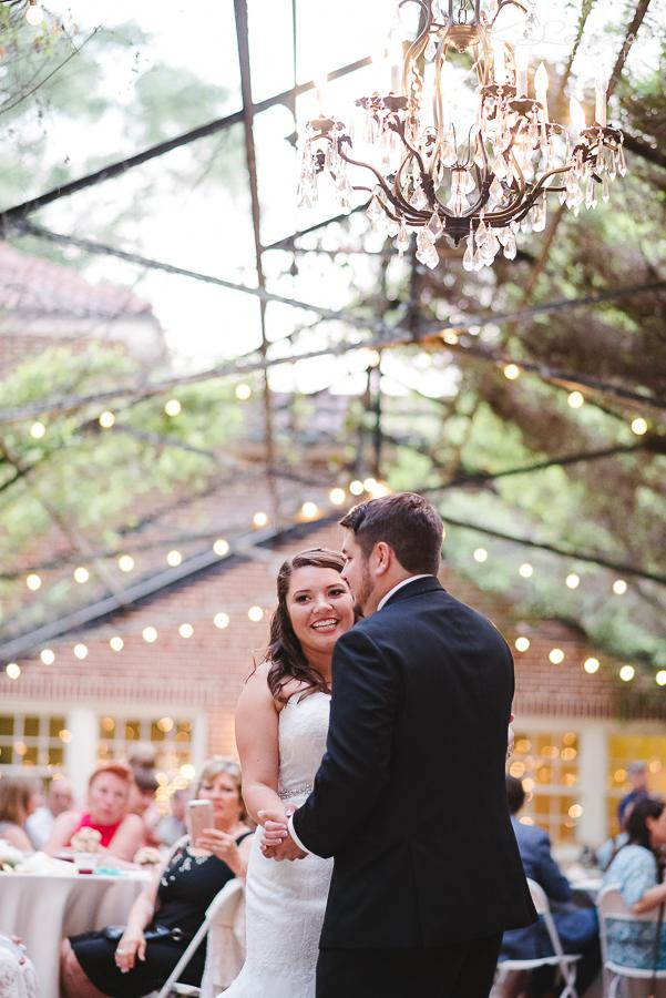 historic malbis nursery wedding reception photographer