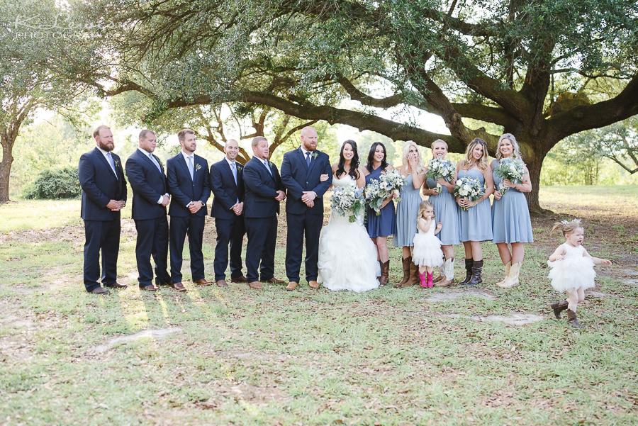 wedding photographer in milton fl