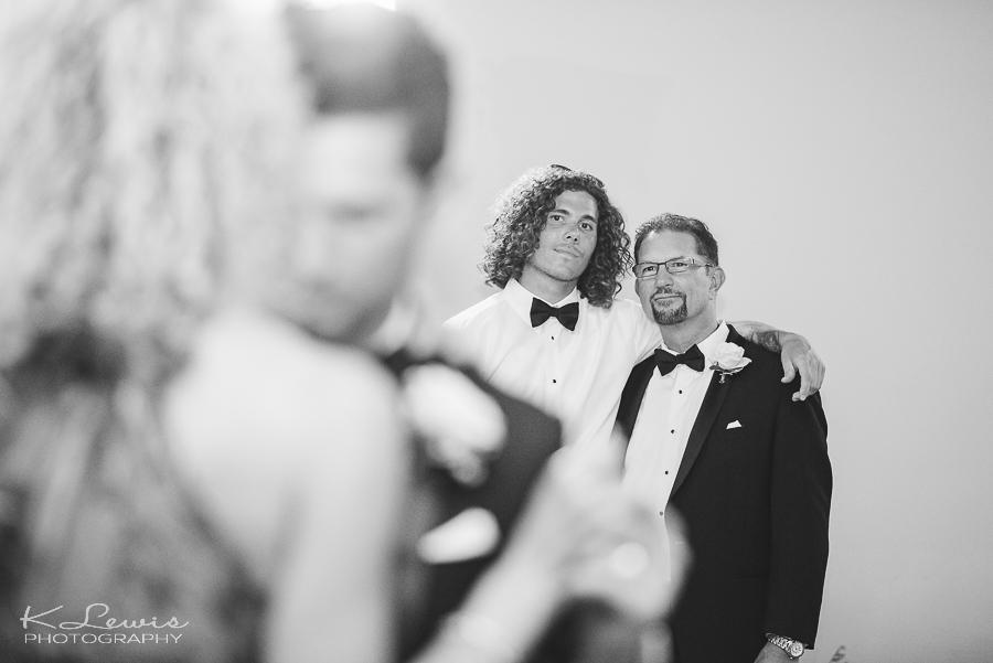 downtown pensacola wedding reception photographer