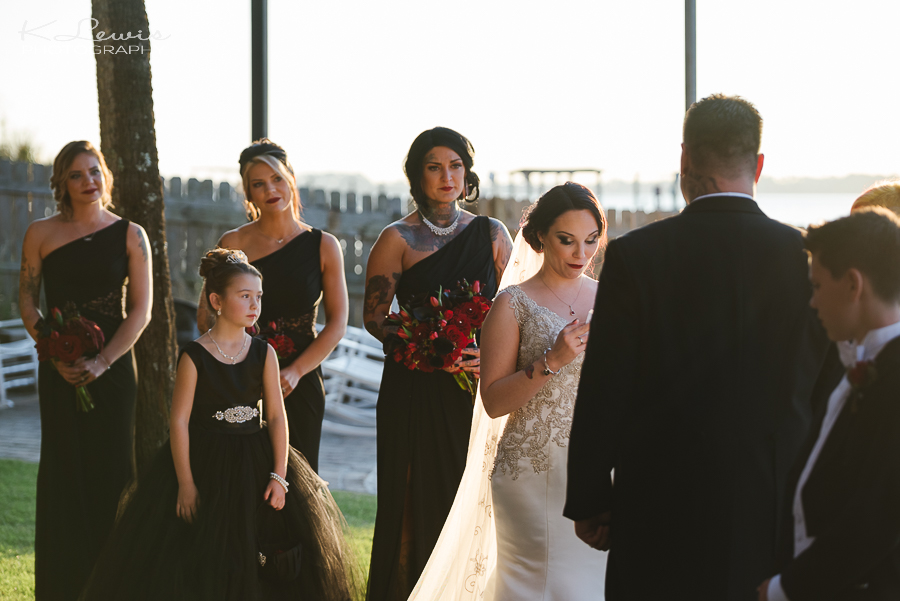 candid pensacola wedding photographer