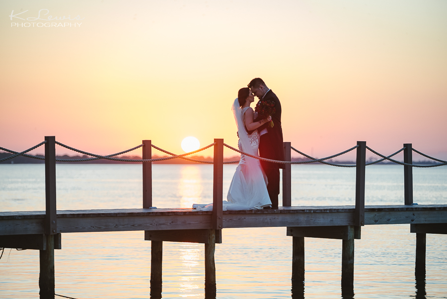 wedding photos at destin bay house