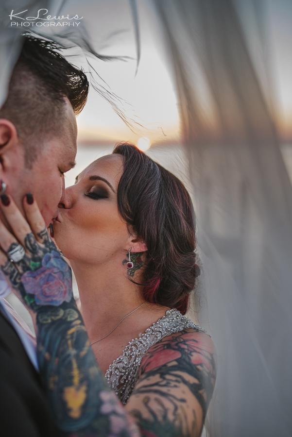 ceremony wedding photos at destin bay house