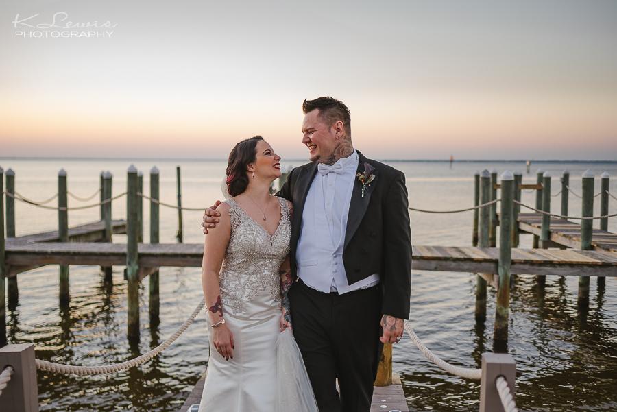 destin bay house wedding photographer