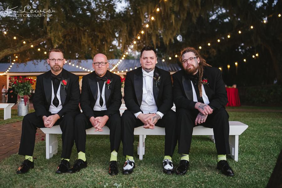 destin bay house wedding photos