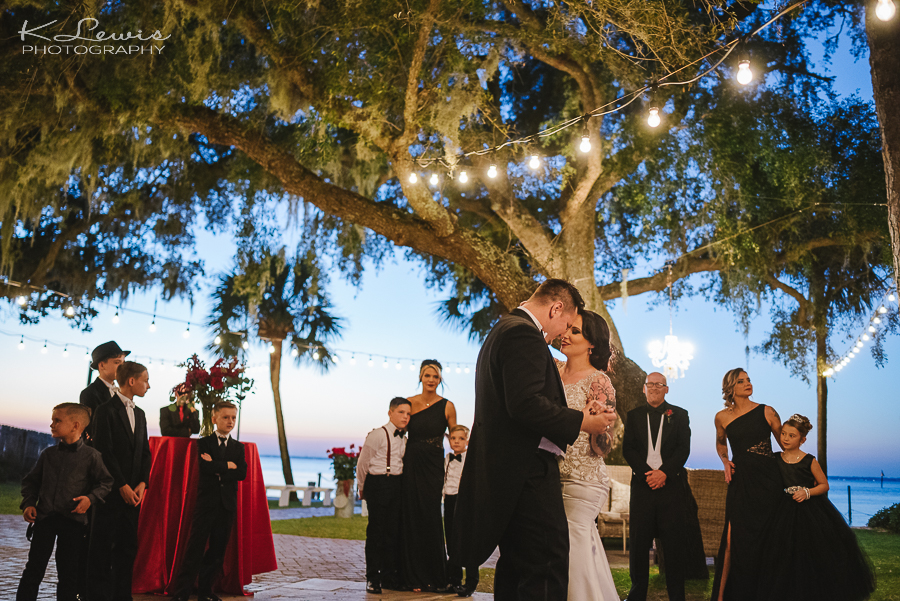 destination wedding photos at destin bay house