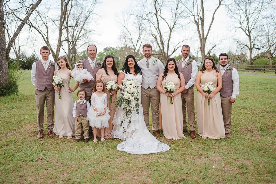 outdoors pensacola wedding photos