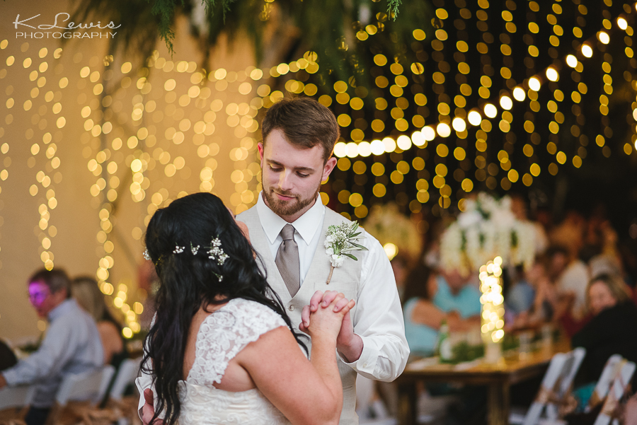 pensacola wedding reception photographer