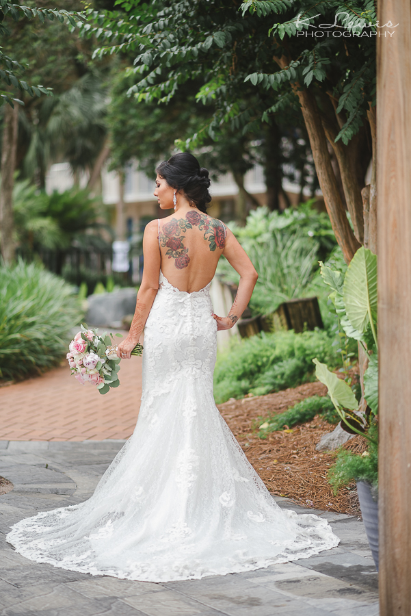 wedding photos at the island by hotel rl ft walton beach