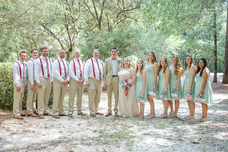 wedding photographer west florida baptist church