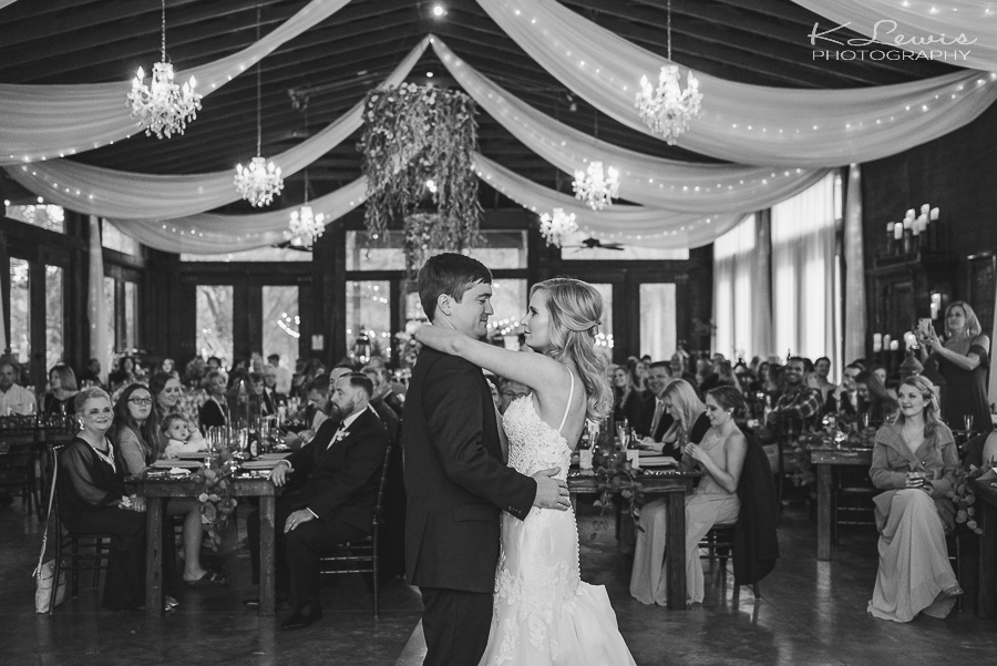 live oak plantation wedding reception photographer