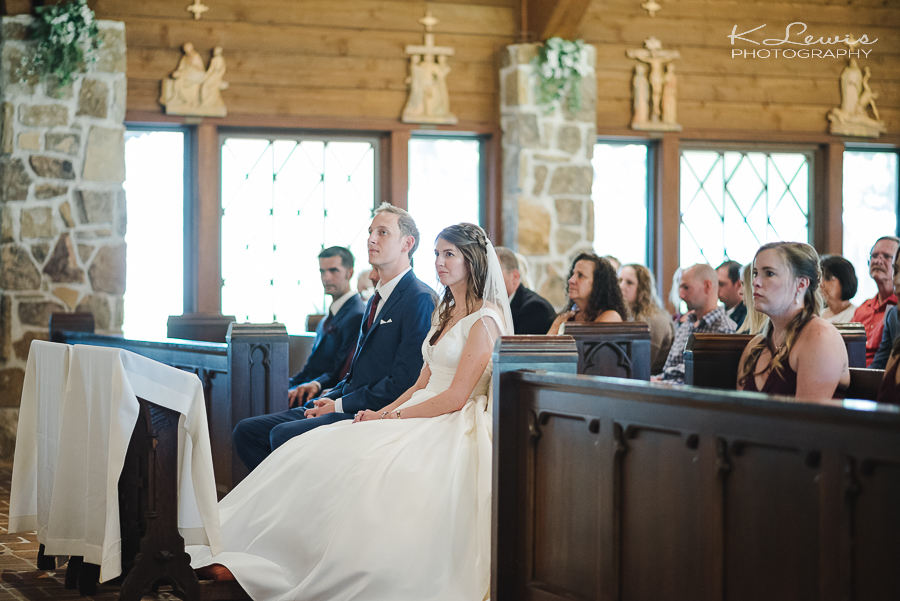 pensacola wedding photographer at st anne catholic church
