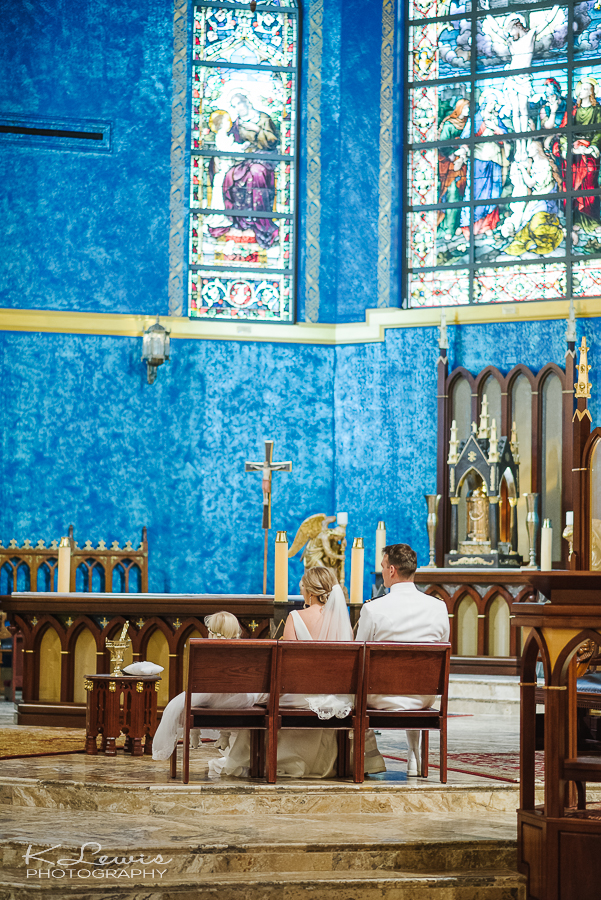 st paul catholic church pensacola wedding photographer