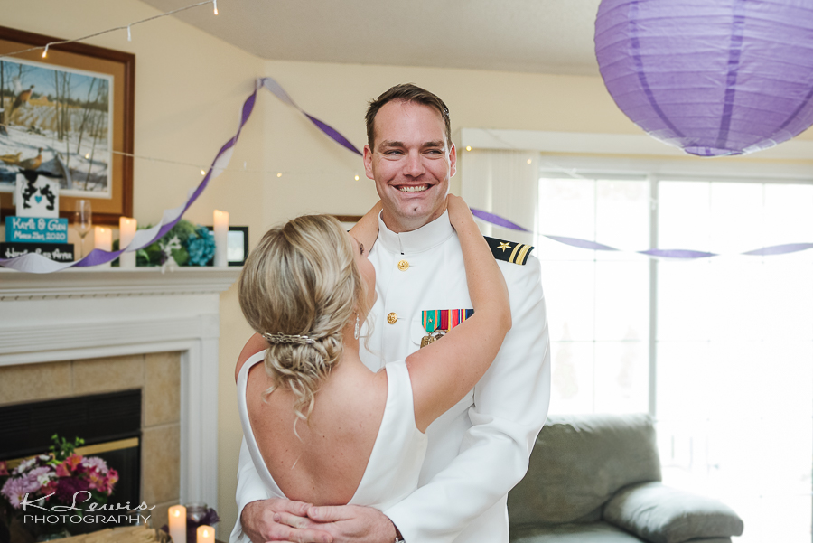 pensacola wedding photographer at st pauls catholic church ceremony