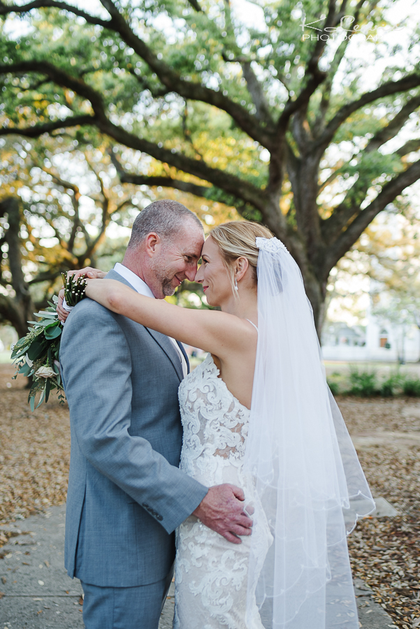 downtown pensacola wedding photos old christ church
