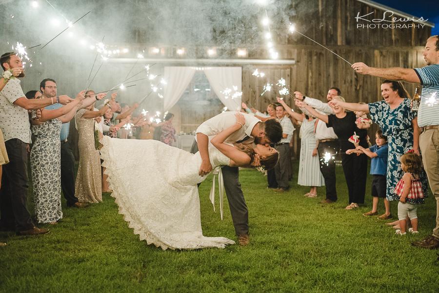 milton florida wedding reception photographer