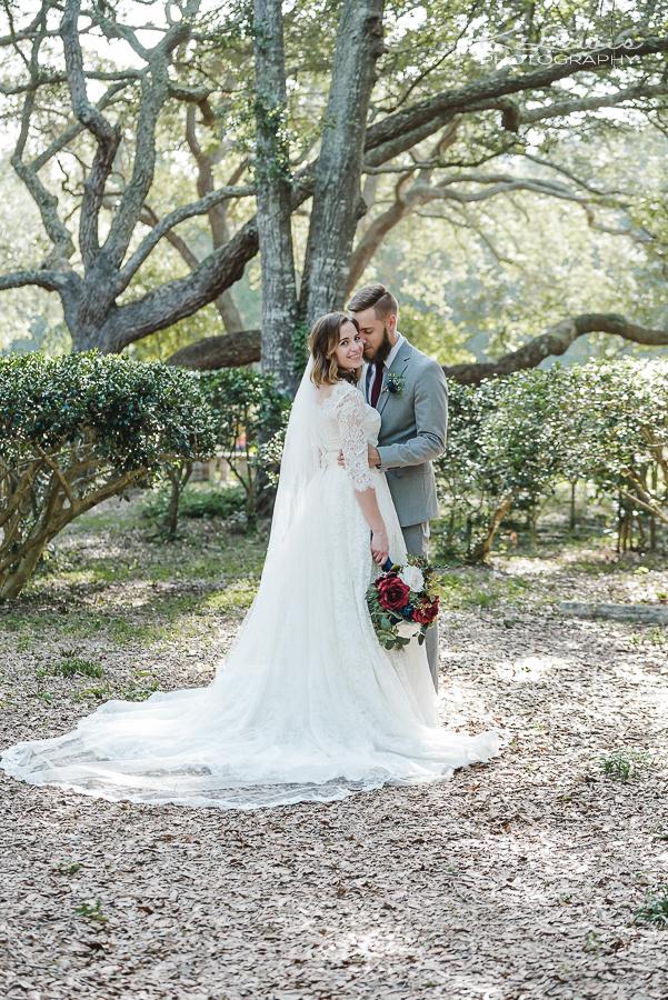 woodsy pensacola wedding photographer
