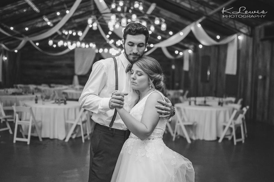 the barn at water oaks wedding reception photographers
