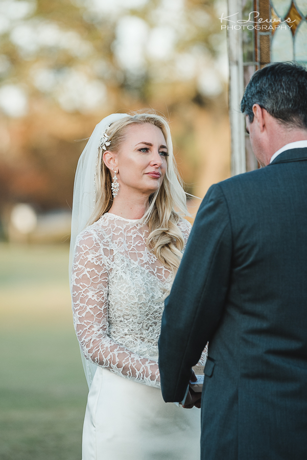 pensacola country club wedding ceremony photos