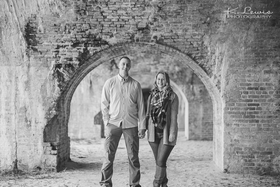 pensacola beach engagement photographers