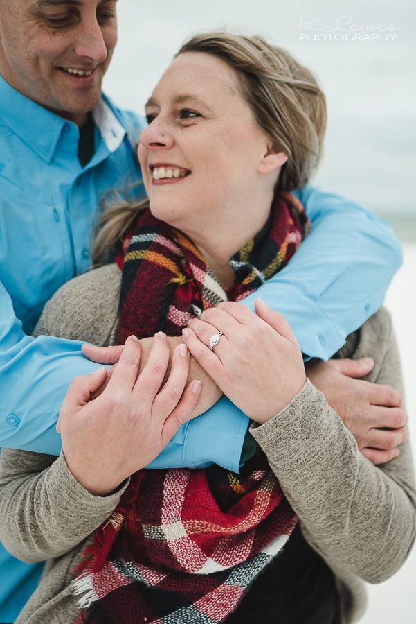 pensacola beach wedding proposal photos