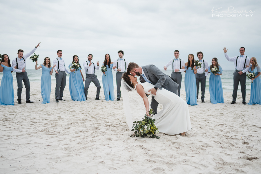 beach house gulf shores wedding photos